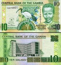GAMBIA - 10 dalasis 2013 FDS - UNC