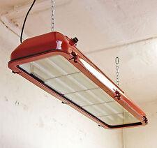 Ex Leuchte Industrie Design Neon Lampe Bunker Billard Fabriklampe antik EOW