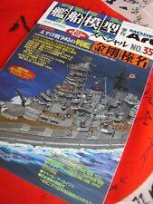 IJN Japanese Navy Battleship KONGO HARUNA Model Art 35