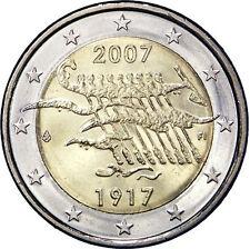 2 EURO Finlandia 2007 - 90° Indipendenza