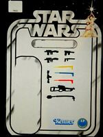 Vintage Star Wars Replacement Weapons for first 12 Luke Leia Ben Darth Jawa