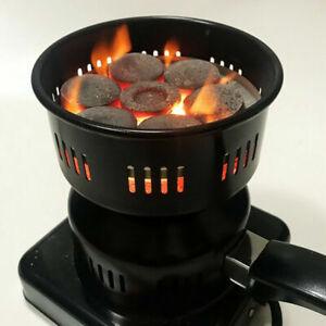 Electric Black Shisha Charcoal Stove,Hot Plate Coal Burner Charcoal Heater 600 W
