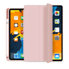 For iPad 7th 8th Gen 10.2'' 2020 2019 Leather Case Slim Cover with Pencil Holder