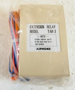 New Aiphone TAR-3  Call Extension Relay  NEW