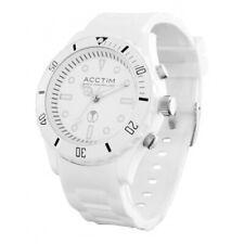 Acctim 60272 Moderno - White Radio Controled Watch