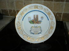 AYNSLEY COMMEMORATIVE PLATE 25th WEDDING ANNIVERSARY THE QUEEN & PRINCE PHILLIP.