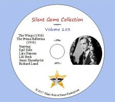 "DVD ""The Wings"" (1916), ""The Prima Ballerina"" (1916) director Mauritz Stiller"