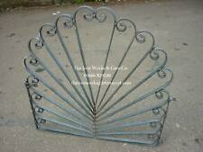 PEACOCK BESPOKE WROUGHT IRON METAL GATE GARDEN GATES QUALITY MADE TO MEASURE 42""