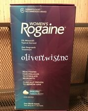NEW IN BOX Women's Rogaine Foam 4 Month Supply 2 x 2.11oz Cans  EXP APRIL 2020