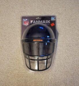 NFL Gear Helmet Style Fan Mask Chicago Bears FANMASK FOAMHEADS FOAM HEADS