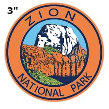Zion National Park Embroidered Patch Utah Iron / Sew-On Vacation Souvenir