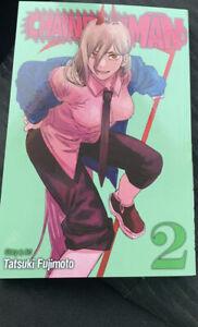 Chainsaw Man Vol. 2 English Manga By Tatsuki Fujimoto Brand New