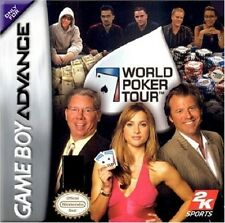 WORLD POKER TOUR             -----   pour GAME BOY ADVANCE  // ba