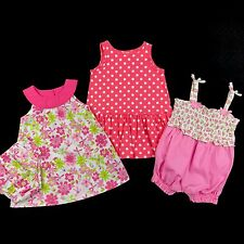 Baby Girl Clothes Size 6-9 Months Spring Summer Outfits Mixed Lot Set