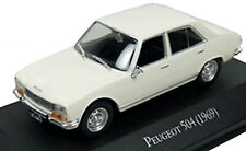 Peugeot 504 Limousine 1968-75 weiss white 1:43