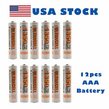 12 pcs AAA Rechargeable Battery 1350mAh Ni-MH 1.2V Cell Toy UltraCell US Stock