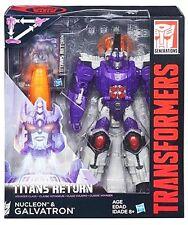 Transformers Generations Titans Return Voyager Galvatron & Nucleon AU