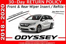 2014-2015 Honda Odyssey Wiper Insert Front and Rear Set
