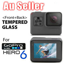 2pcs Lens Protector+Screen Protector Tempered Glass Protective for GoPro Hero 6