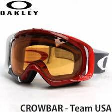 Oakley Team USA Crowbar Ski Snowboard Goggle RT $155 High Definition Optics® NWB