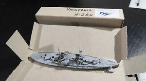g Navis Neptun 1:1250 Waterline BOXED Imperial German Navy 2an Kronprinz 1914
