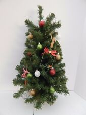 Small 1/2 Tree w/Wood Base Perfect Accessory to Byers Choice Displays