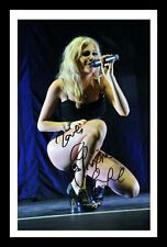 PIXIE LOTT AUTOGRAPHED SIGNED & FRAMED PP POSTER PHOTO