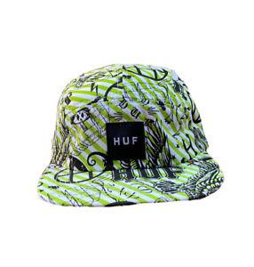 Huf worldwide Skateboard 6 Panel cap Dad hat Liberty Snapback Beryl Green