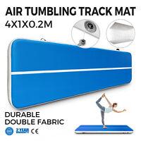 4M Airtrack Inflatable Air Track Floor Home Gymnastics Tumbling Mat Pump GYM