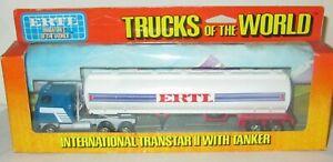 Ertl Trucks of the World 1:64 Scale 1418 iNTERNATIONAL TRANSTAR II with Tanker.