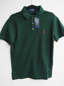 "BNWT Men's POLO RALPH LAUREN Slim Fit Mesh Short Sleeve Polo Shirt size S / 36"""
