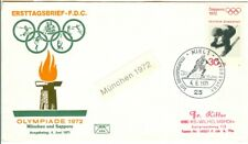 Germany 1972 Olympic Games Sapporo Downhill skiing  with first day cancel