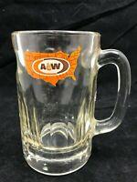 Vintage A&W Root Beer Mug, 6' tall