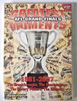 AFL GRAND FINALS GREATEST MOMENTS 1961 - 2007 Official AFL DVD NEW SEALED