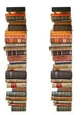A4 Edible Decor Icing Sheet Vintage Books Ribbon Border for larger cakes