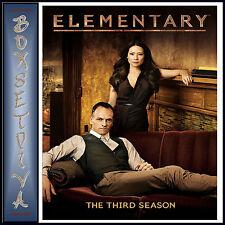 ELEMENTARY - COMPLETE SEASON 3   *BRAND NEW DVD*