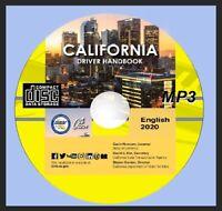 DMV CALIFORNIA  Audio handbook MP3 2020