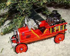 Kiddy Car Classic, 1924 Toledo Fire Engine #6 Ornament (by Hallmark QX6691) 2000