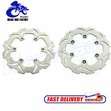250mm+240mm Front Rear Brake Disc Rotors for Suzuki RM125 00-09 RM 250 2000-2012