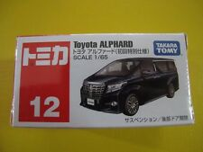Tomy Tomica #No.12 Toyota Alphard Black Scale 1/65 Takara (First Edition)