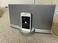 Bose SoundDock Digital Music System iPod Dock White Silver N123