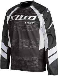 Klim Dakar Off Road Motorcycle Jersey Black size Large