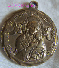 RG836 - MEDAILLE PAUL VI - OUR LADY OF PERPETUAL HELP PRAY FOR US