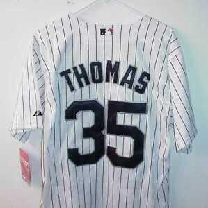 THE BIG HURT FRANK THOMAS CHICAGO WHITE SOX JERSEY NEW WITH TAGS