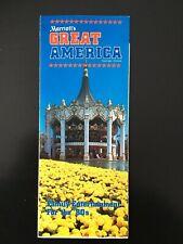 1980 Marriott's Great America Gurnee, Illinois Amusement Park Brochure