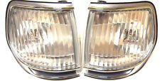 Toyota Land Cruiser HDJ 80 Chrome Indicators Corner Lights PAIR (LH+RH) crystal*