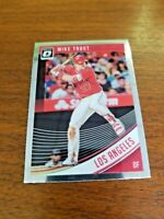 MIKE TROUT 2018 PANINI CHROME DONRUSS OPTIC CARD #121 LOS ANGELES ANGELS