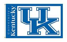 University Of Kentucky UK Flag One Sided NCAA 3' x 5' Licensed