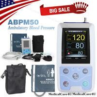 Ambulantes Blutdruckmessgerät NIBP Holter 24-Stunden-Recorder-Software USB