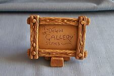 Pendelfin Rare Original Gallery Display Sign With Wedge Made in England